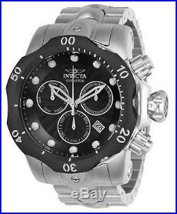 Invicta Men's 23888 Venom Quartz Chronograph Black Dial Watch