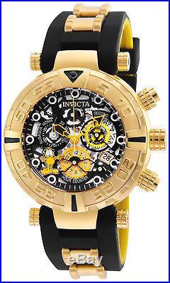 Invicta Men's 24879 Character Quartz 3 Hand Black, Gunmetal, Silver Dial Watch