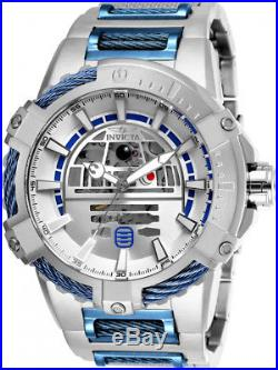Invicta Men's 26206 Star Wars Automatic Multifunction Silver Dial Watch