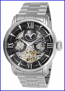 Invicta Men's 27576 Objet D Art Automatic 2 Hand Black Dial Watch
