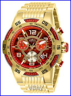 Invicta Men's 28010'Speedway' Gold-Tone Stainless Steel Watch