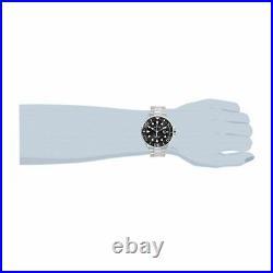 Invicta Men's 28765 Pro Diver Quartz 3 Hand Black Dial Stainless Steel Watch