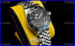 Invicta Men's 40mm PRO DIVER COIN EDGE PROFESSIONAL Quartz Black/Blue SS Watch