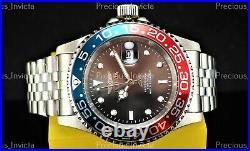 Invicta Men's 40mm PRO DIVER COIN EDGE PROFESSIONAL Quartz Blue/Red SS Watch
