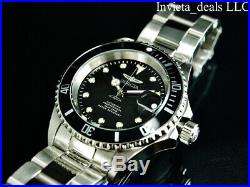 Invicta Men's 40mm Pro Diver SUBMARINER AUTOMATIC NH35A Black Dial Silver Watch