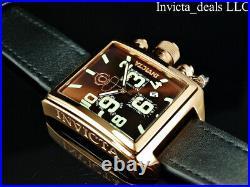Invicta Men's 45mm RUSSIAN DIVER Swiss Ronda Movement BROWN Dial Rose Tone Watch