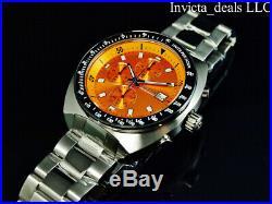 Invicta Men's 46mm Pro Diver CADI 80s Vintage Chrono Orange Jellyfish Dial Watch