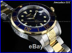 Invicta Men's 47mm GRAND DIVER Automatic Blue Dial Stainless Steel 300M Watch