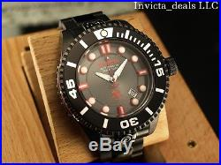 Invicta Men's 47mm Grand Diver 2 Gen II Automatic Black Stainless Steel Watch