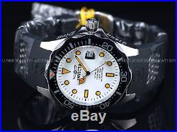 Invicta Men's 47mm Grand Diver Automatic NH35A FULL LUME Dial Black Strap Watch