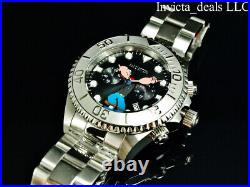 Invicta Men's 47mm Pro Diver POPEYE Chronograph BLACK Dial Limited Ed SS Watch
