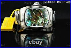 Invicta Men's 47mm SPECIAL EDITION GRAND LUPAH Abalone Dial Black Tone SS Watch