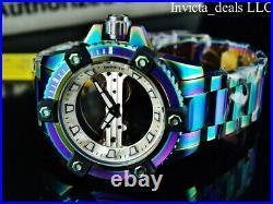 Invicta Men's 48mm ARSENAL GHOST BRIDGE Mechanical Limited Ed IRIDESCENT Watch