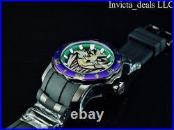 Invicta Men's 48mm DC Comics SCUBA JOKER Limited Edition Black/Purple Tone Watch