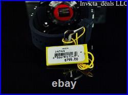 Invicta Men's 48mm Marvel PUNISHER Pro Diver SCUBA Gunmetal/Black Ltd Ed Watch