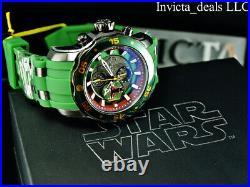 Invicta Men's 48mm Pro Diver SCUBA Star Wars BOBA FETT Chrono Limited Ed Watch