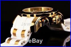 Invicta Men's 48mm Pro Diver Scuba Swiss Chronograph White Strap Watch 20292