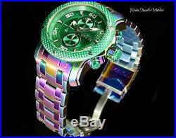 Invicta Men's 48mm ProDiver Scuba GREEN Carbon Dial 1.0 Iridescent Quartz Watch