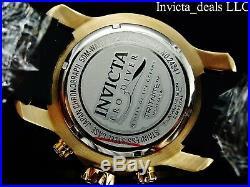 Invicta Men's 48mm Scuba Pro Diver Chronograph ABALONE Dial Gold Tone SS Watch
