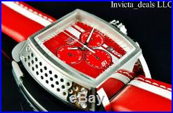 Invicta Men's 48mm Tonneau S1 Rally Race Team Swiss Z60 Chrono Red Tone SS Watch