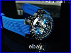Invicta Men's 50mm AVIATOR VOYAGER NAUTICAL Multi Function Blue/Black Dial Watch