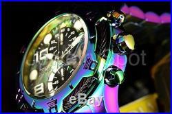 Invicta Men's 50mm Bolt Chronograph Abalone Dial Iridescent Bracelet Watch NEW