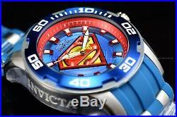 Invicta Men's 50mm DC Comics Clark Kent's SUPERMAN Pro Diver Lim Ed Scuba Watch