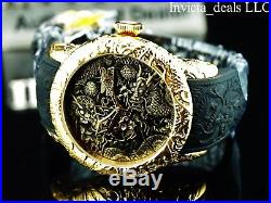 Invicta Men's 50mm Empire Dragon Automatic Open Heart DL Sapphire Crystal Watch
