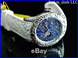 Invicta Men's 50mm Maori DRAGON Automatic Open Heart DL Sapphire Crystal Watch