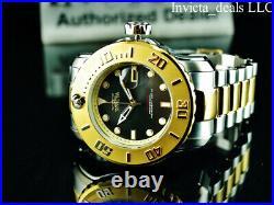 Invicta Men's 50mm Pro Diver SCUBA PROPELLER Automatic Black Dial Two Tone Watch