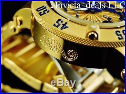 5fc2c87fd Invicta Men's 50mm SEAHORSE Subaqua Noma III Swiss Chronograph 18KGIP SS  Watch
