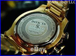 Invicta Men's 50mm SPEEDWAY VIPER GEN III Chronograph BLUE Dial Gold Tone Watch