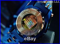 Invicta Men's 50mm Sea Spider BLUE LABEL AUTOMATIC BLUE Dial Blue Tone SS Watch