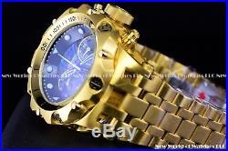 Invicta Men's 51mm Hybrid Venom Swiss Chronograph 24K Gold Plated Abalone Watch