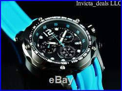 Invicta Men's 51mm SPEEDWAY TURBO SWISS Chrono Electric Blue Stainless St Watch