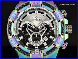 Invicta Men's 52MM Bolt Quartz Chronograph Carbon Fiber Dial IRIDESCENT Watch