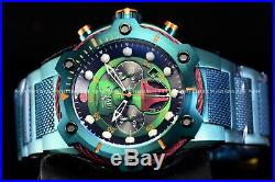 Invicta Men's 52MM Limited Edition Star Wars BOBA FETT Chrono Green Watch