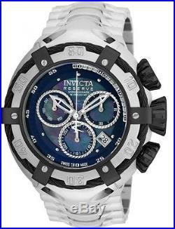 Invicta Men's 52mm Bolt Chronograph Swiss Quartz Blue Dial S. Steel Watch 21344