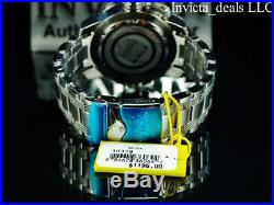 Invicta Men's 52mm COALITION FORCES RETROGRADE DAY Black Dial Silver SS Watch