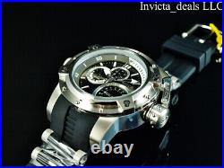 Invicta Men's 52mm COALITION FORCES RETROGRADE DAY Black Dial Stainless St Watch