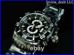 Invicta Men's 52mm CORDUBA IBIZA Chronograph COMBAT BLACK Tone BLACK DIAL Watch