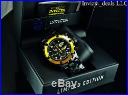 Invicta Men's 52mm DC Comics Subaqua Swiss Chrono BATMAN Combat Black SS Watch