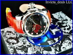 Invicta Men's 52mm DC Comics Venom SUPERMAN AUTOMATIC BLACK DIAL Ltd Ed SS Watch