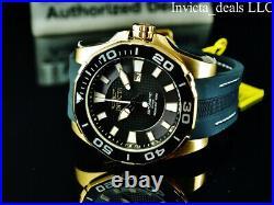 Invicta Men's 52mm GRAND DIVER Automatic BLACK DIAL Gold Tone Limited Ed Watch