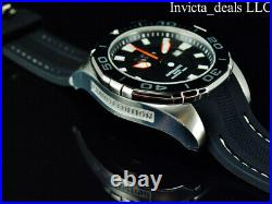 Invicta Men's 52mm GRAND DIVER Automatic LIMITED EDITION Black Dial Silver Watch