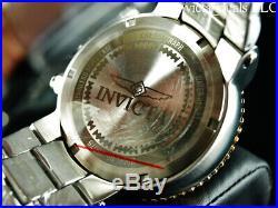 Invicta Men's 52mm Grand Pro Diver COMBAT SEAL Chronograph Black Dial SS Watch