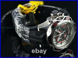 Invicta Men's 52mm Hybrid Venom Gen III Chronograph Red-BLK DIAL Strap SS Watch
