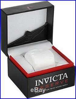 Invicta Men's 52mm Reserve Bolt Zeus Swiss Made Meteorite Titanium Watch 12727