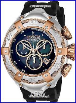 Invicta Men's 52mm Reserve Thunderbolt Swiss Quartz Chrono Silicone Watch 21349