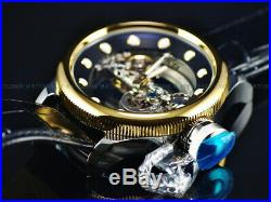 Invicta Men's 52mm Russian Diver Ghost Automatic Skeletonized 18K Gold IP Watch